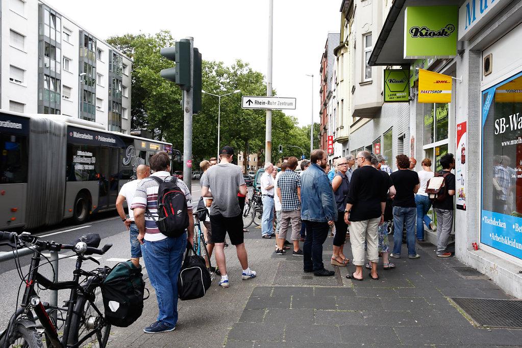 Trinkhallen Tour Ruhr, Mülheim, 2016
