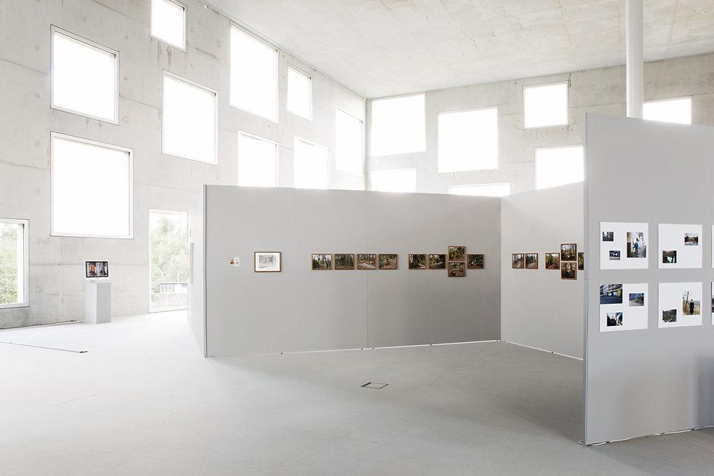 """Installationsansichten. """"Der Kaiserberg in Duisburg"""", Sanaa Gebäude, Zeche Zollverein, Oktober 2016"""